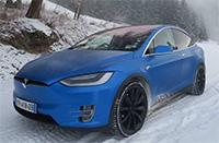 Zero Emission Tesla Transfers to Tignes