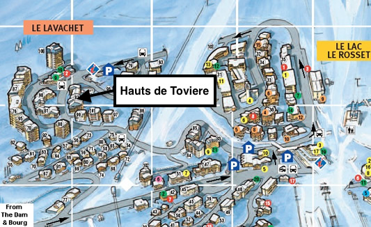 12 Hauts de Toviere Location Map