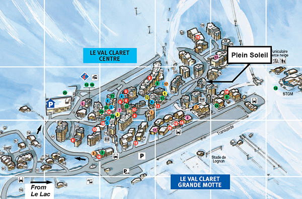 Plein Soleil  Location Map