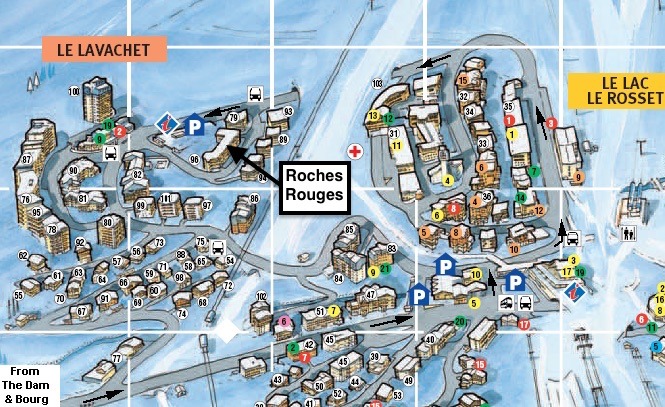 32 Roches Rouges Location Map